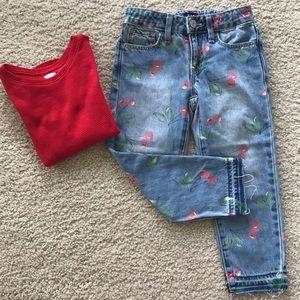 👫GAP Denim Girls Girlfriend Jeans